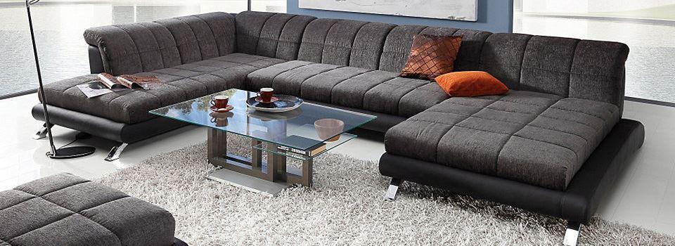 Большой диван в интерьере (10)