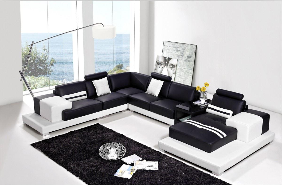 Большой диван в интерьере (12)