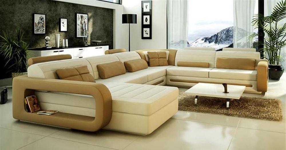 Большой диван в интерьере (16)