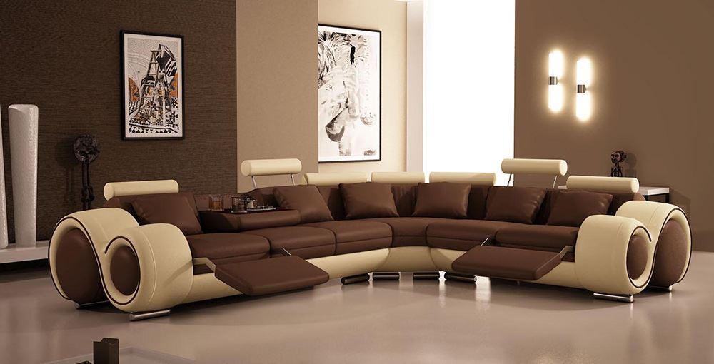 Большой диван в интерьере (19)