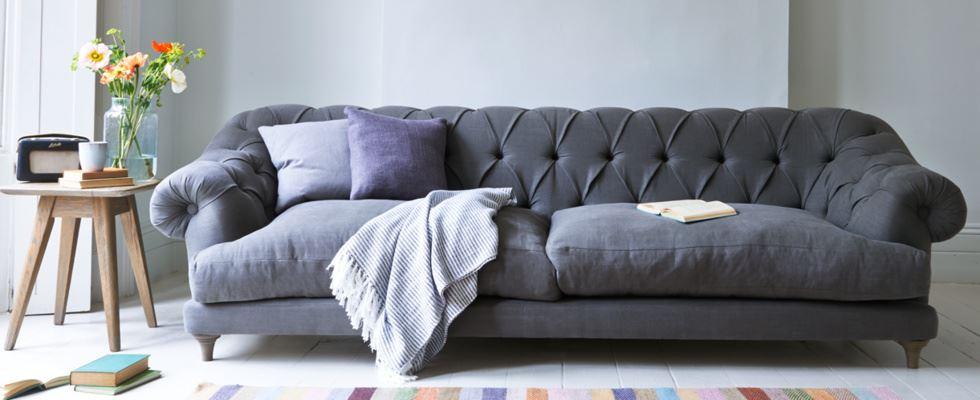 Большой прямой диван