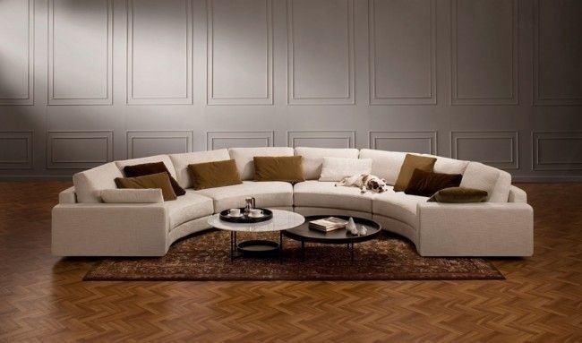 Большой диван в интерьере (29)