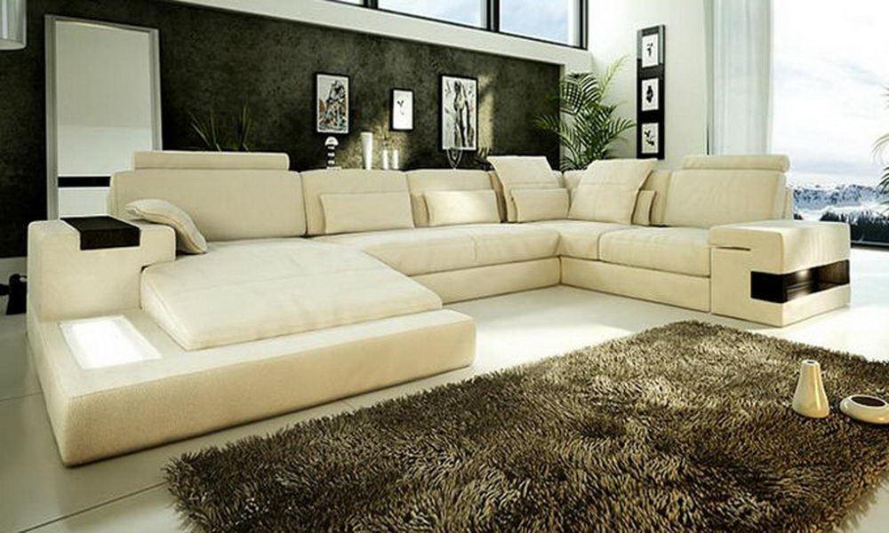 Большой диван в интерьере (34)