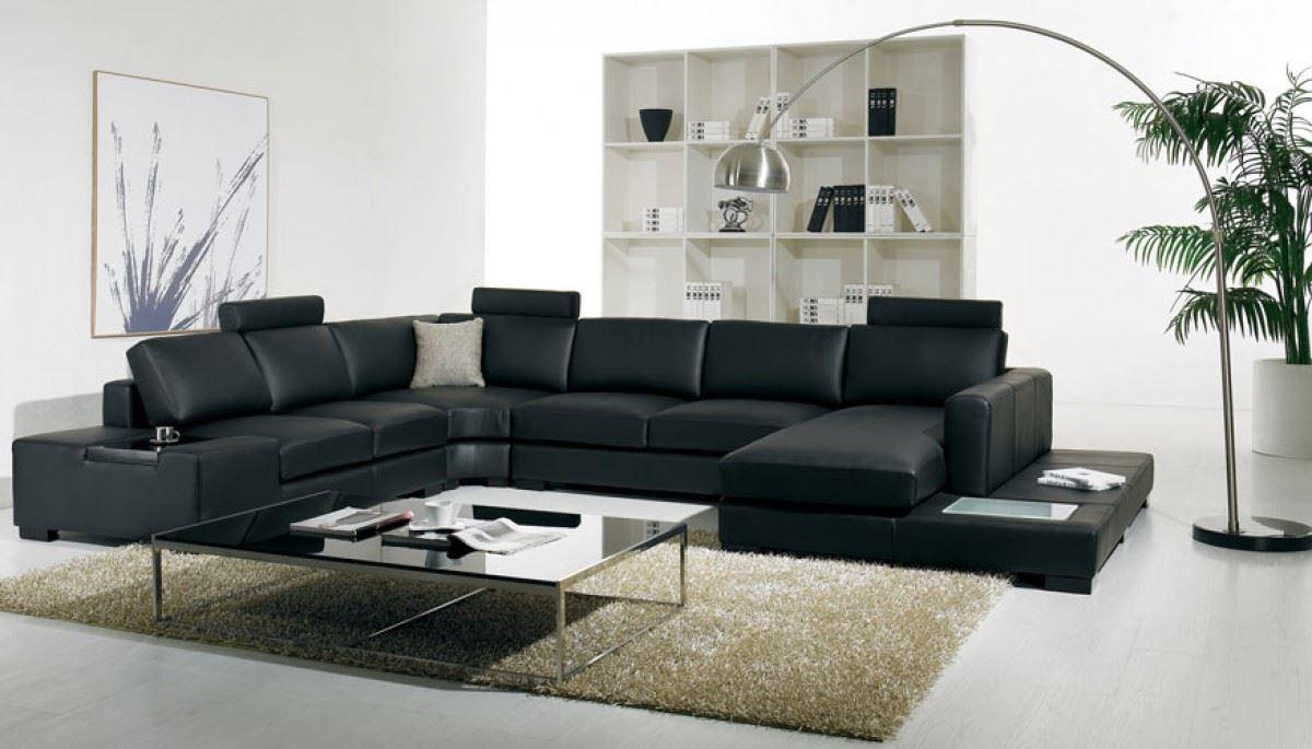 Большой диван в интерьере (43)