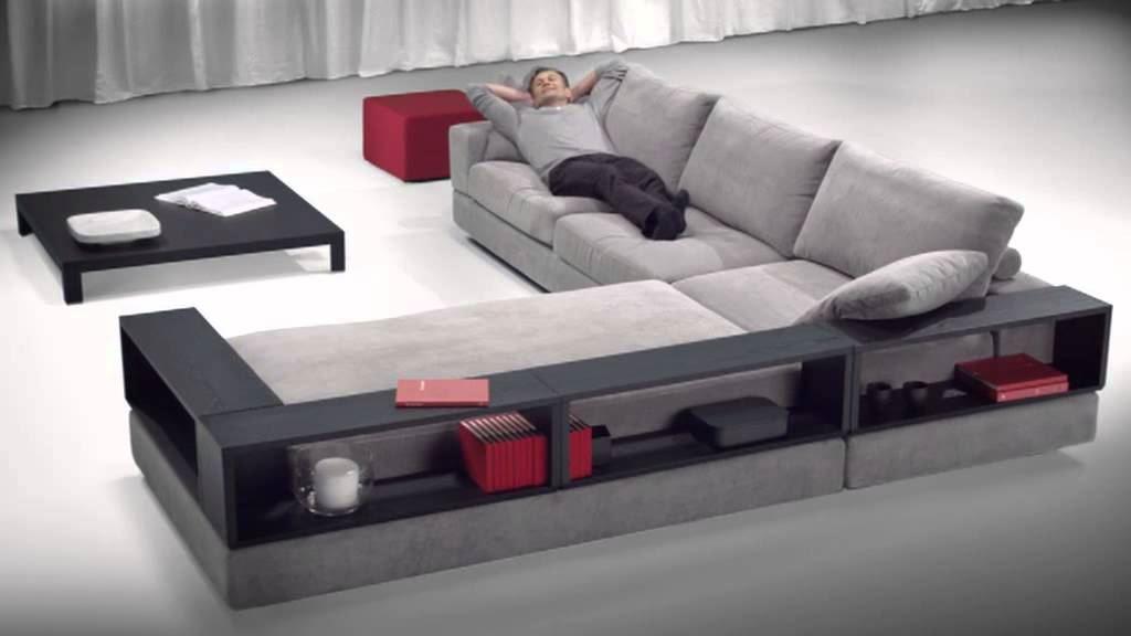 Большой диван в интерьере (5)