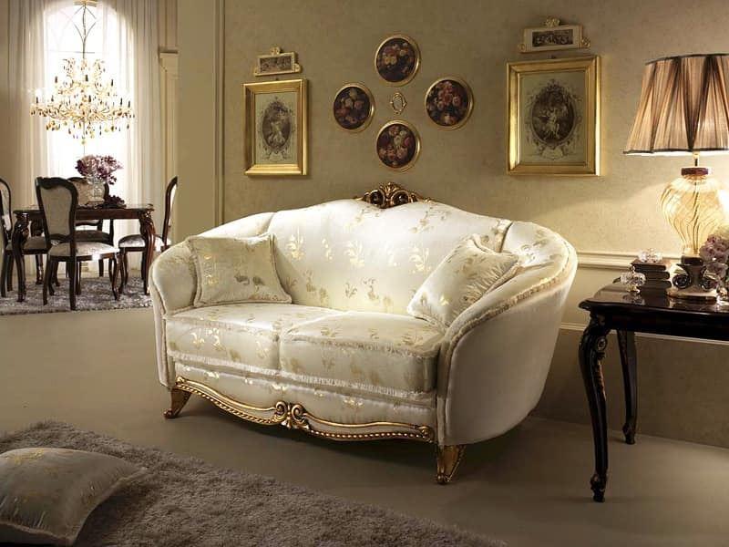 Мягкий классический диван