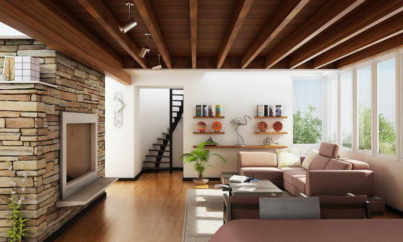 Стильный современный интерьер маленькой гостиной
