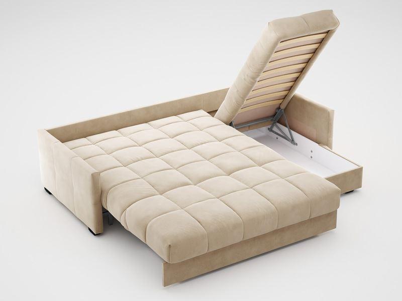 угловой диван с ортопедическим матрасом