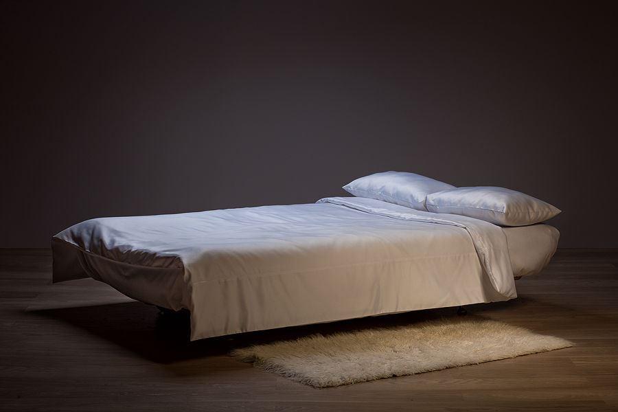 Духспальный ортопедический диван с двумя независимыми матрасами