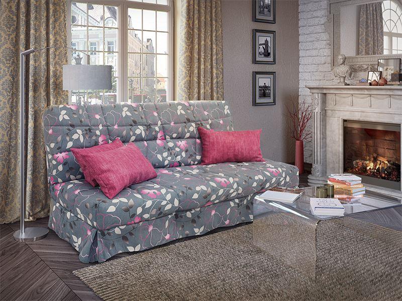 Раскладной диван для ежедневного сна с ортопедическим матрасом