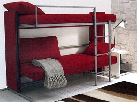 Диван трансформер в двухъярусную кровать (14)