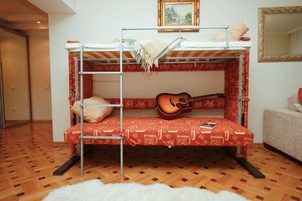 Раскладной двухъярусный диван кровать