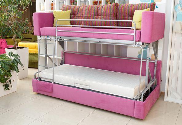 Диван трансформер в двухъярусную кровать (3)