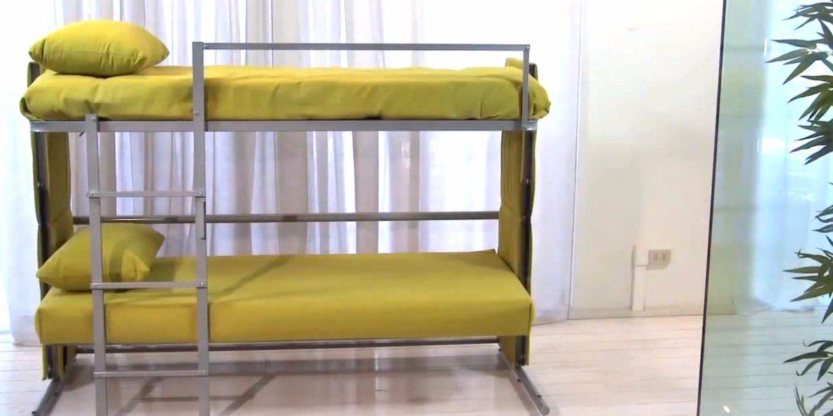 Диван трансформер в двухъярусную кровать (4)