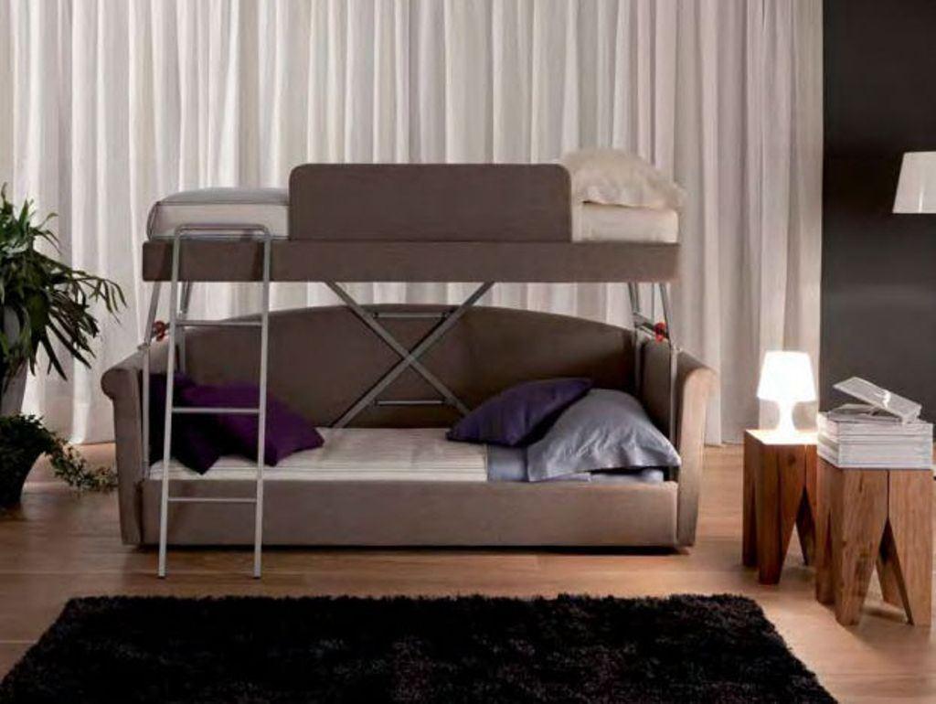 Диван трансформер в двухъярусную кровать (6)