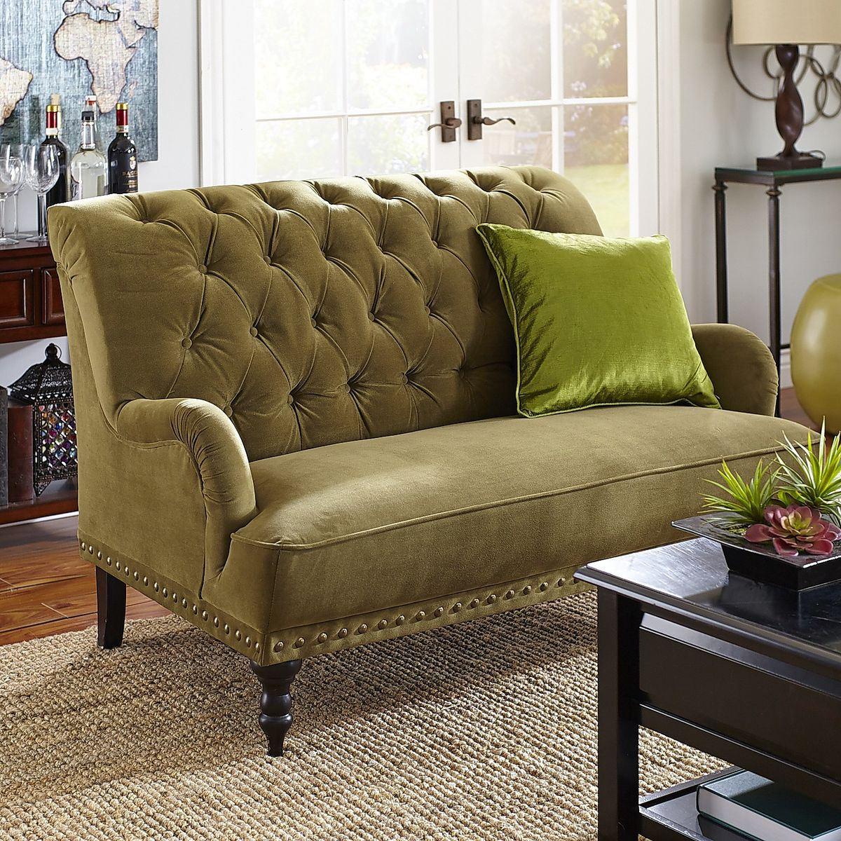 Зеленый диван (36)