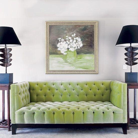 Зеленый диван (4)