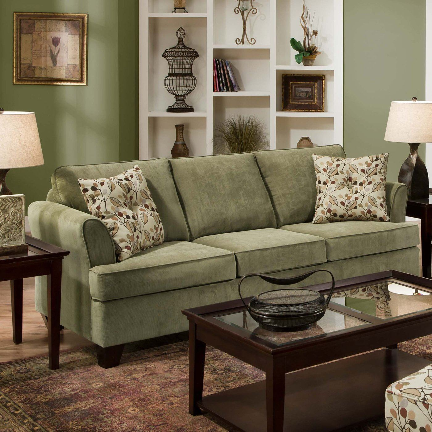 Зеленый диван (6)