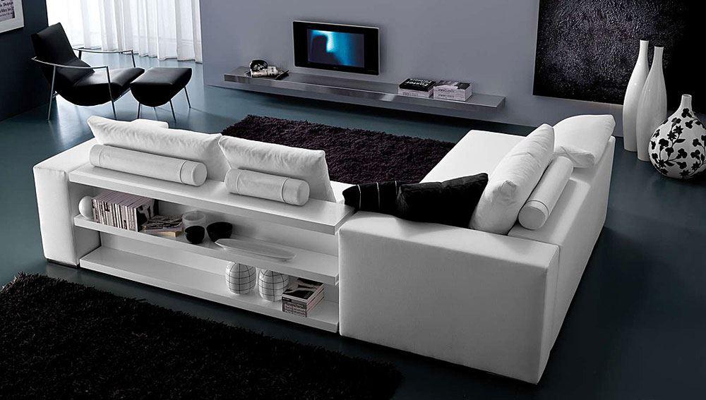 Интересный способ размещения дивана в интерьере (1)