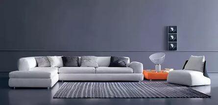 Интересный способ размещения дивана в интерьере (8)
