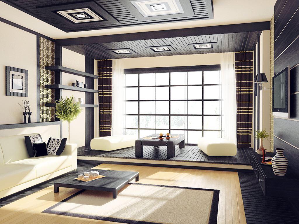Интересный способ размещения дивана в интерьере (9)