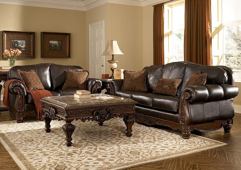 Коричневый диван в интерьере (13)