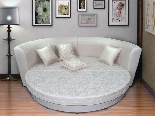 Раскладной круглый диван-кровать