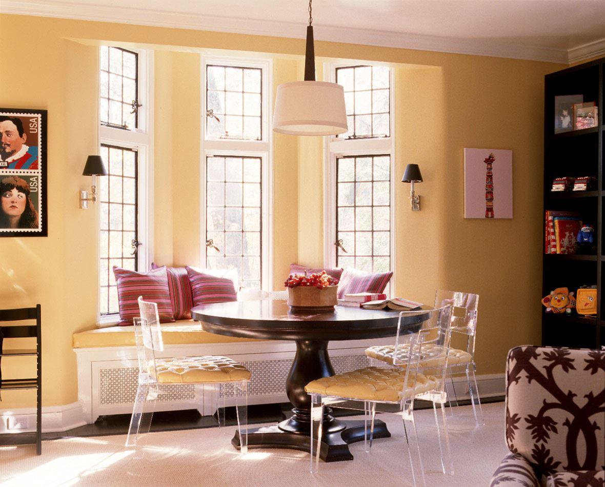 Кухонный диван в эркер (23)