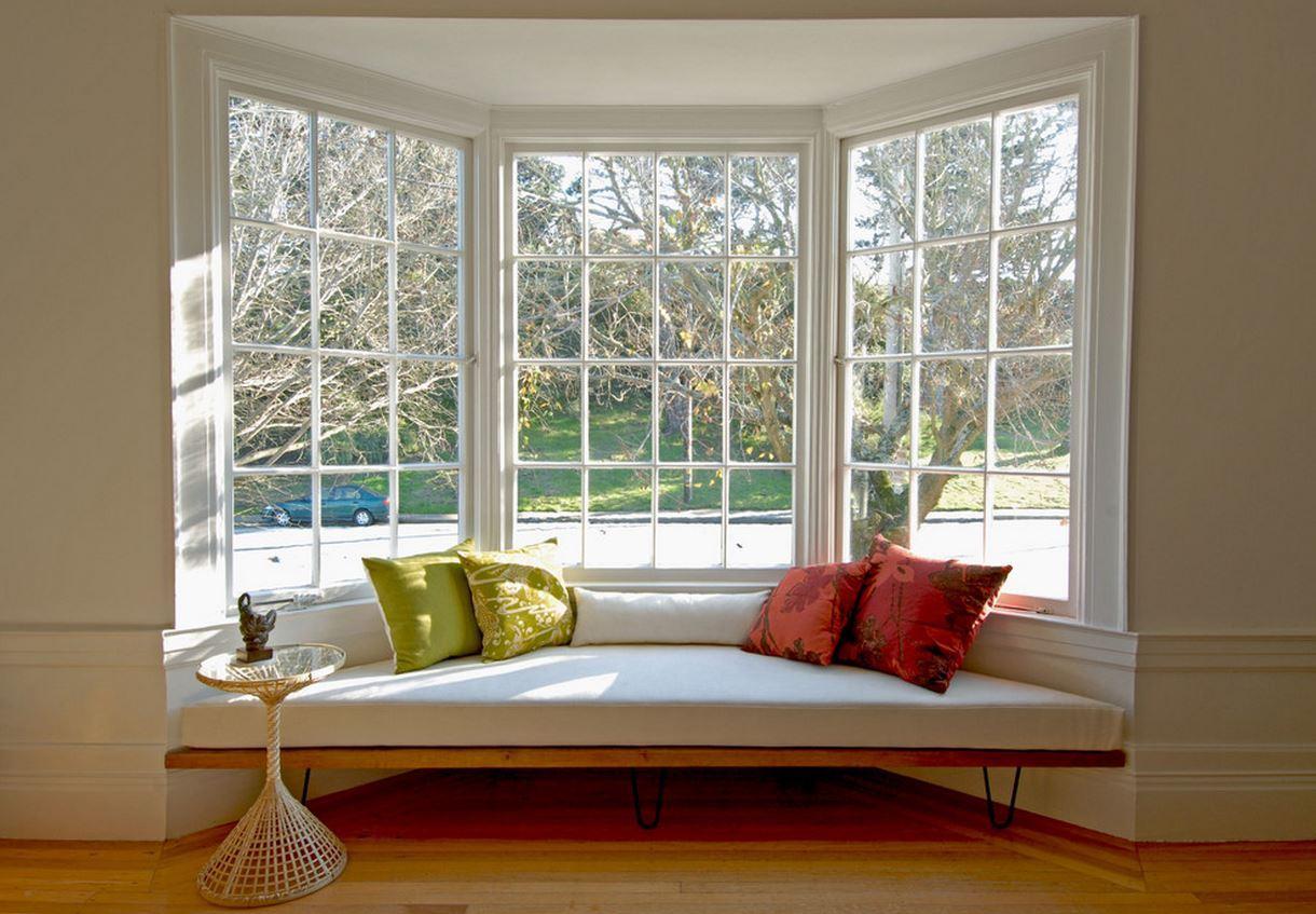 Кухонный диван в эркер (29)