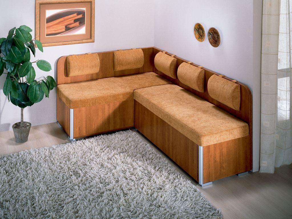 Угловой кухонный диван - фото