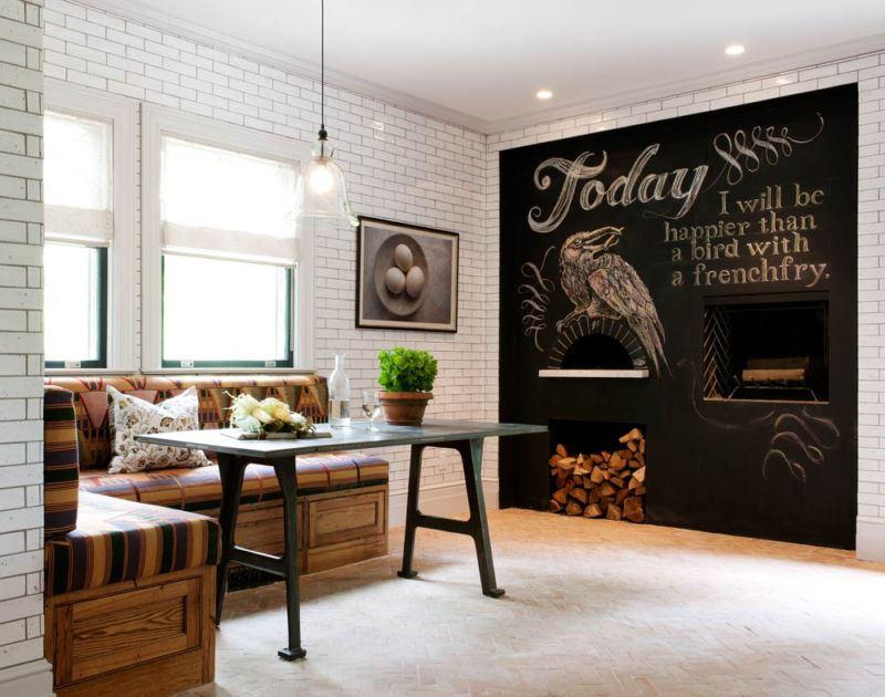 Большой кухонный диван