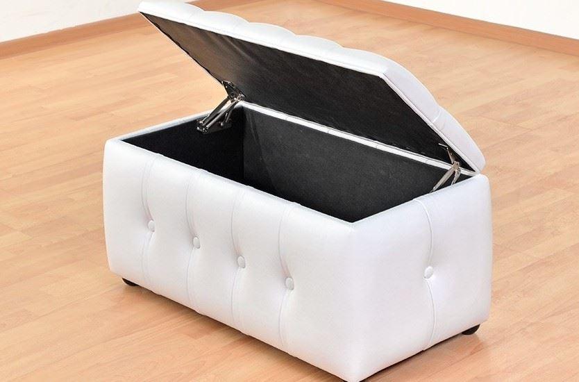 Модульный пуф с нишей для хранения