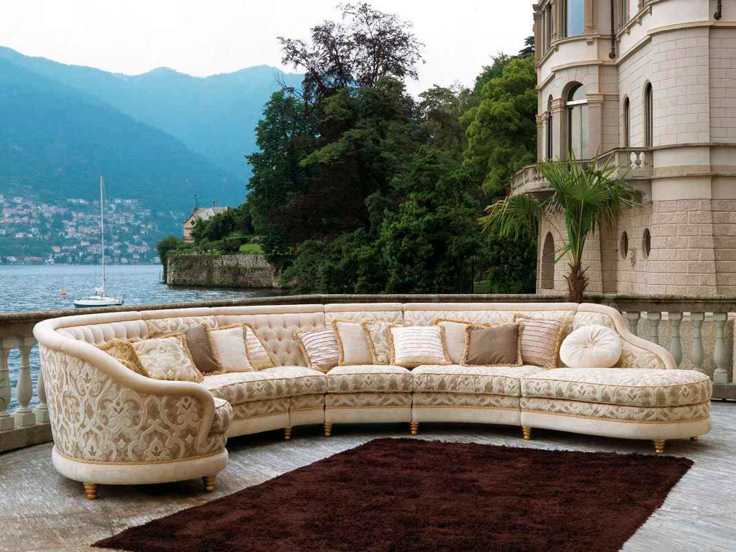 Полукруглый диван (10)