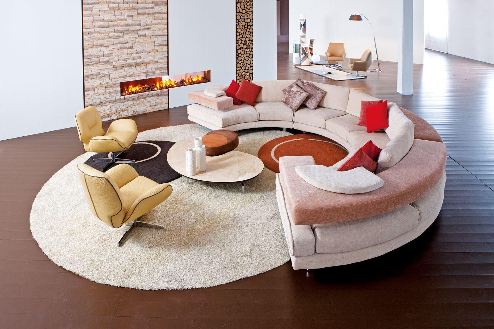 Полукруглый диван (29)