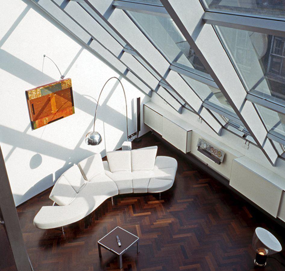 Волнистый диван фото сверху