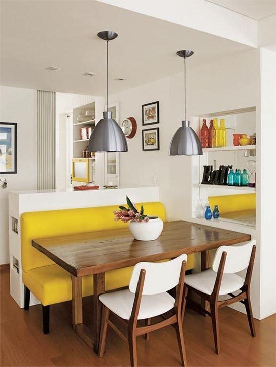 Прямой кухонный диван (1)
