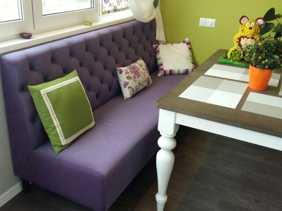 Прямой кухонный диван (5)