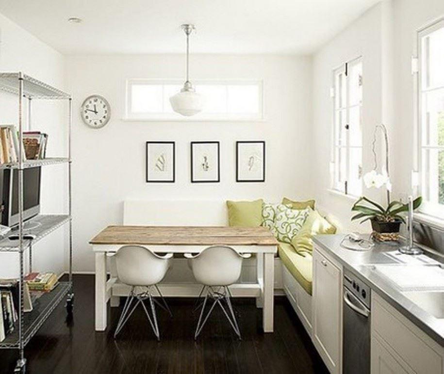 Размещение дивана на кухне (1)