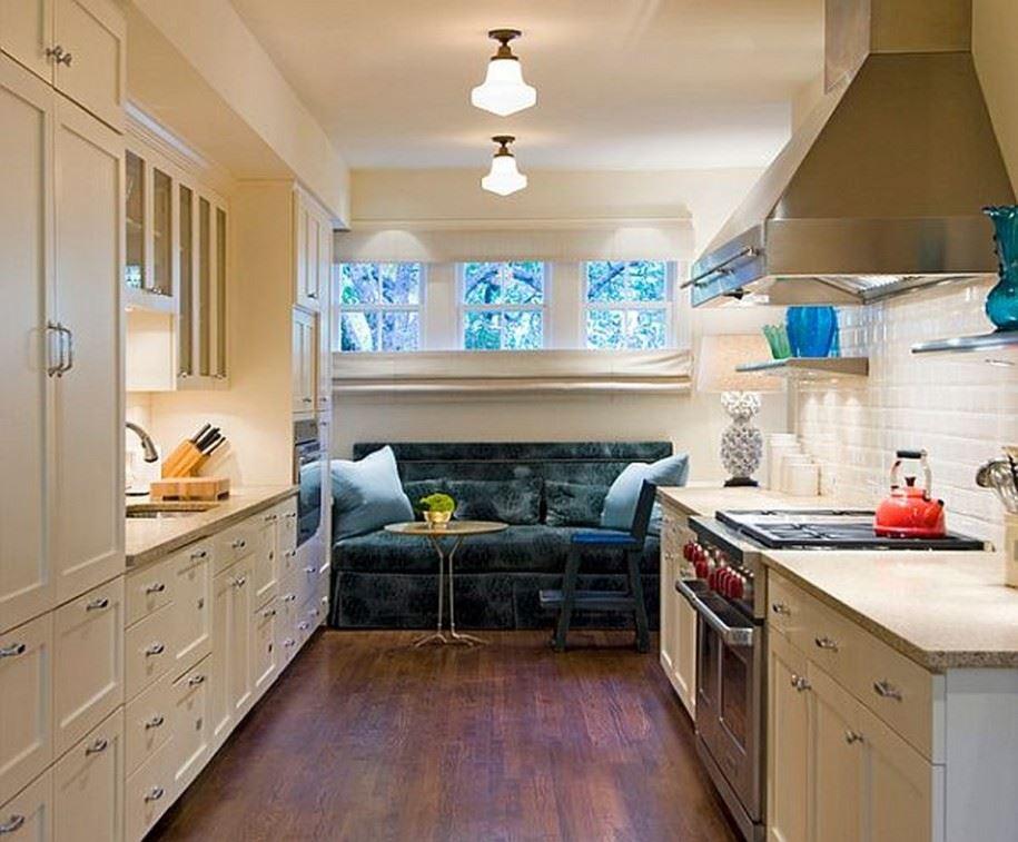Размещение дивана на кухне (20)