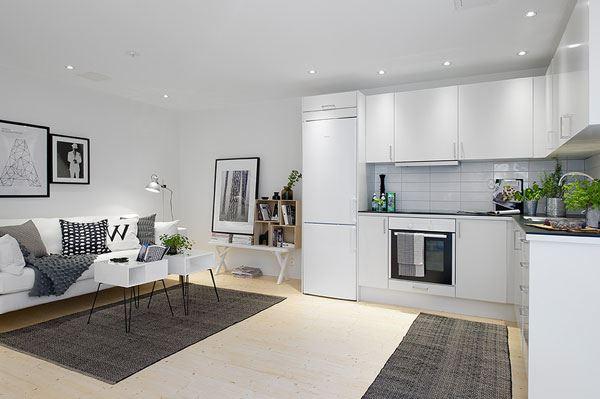 Размещение дивана на кухне (3)