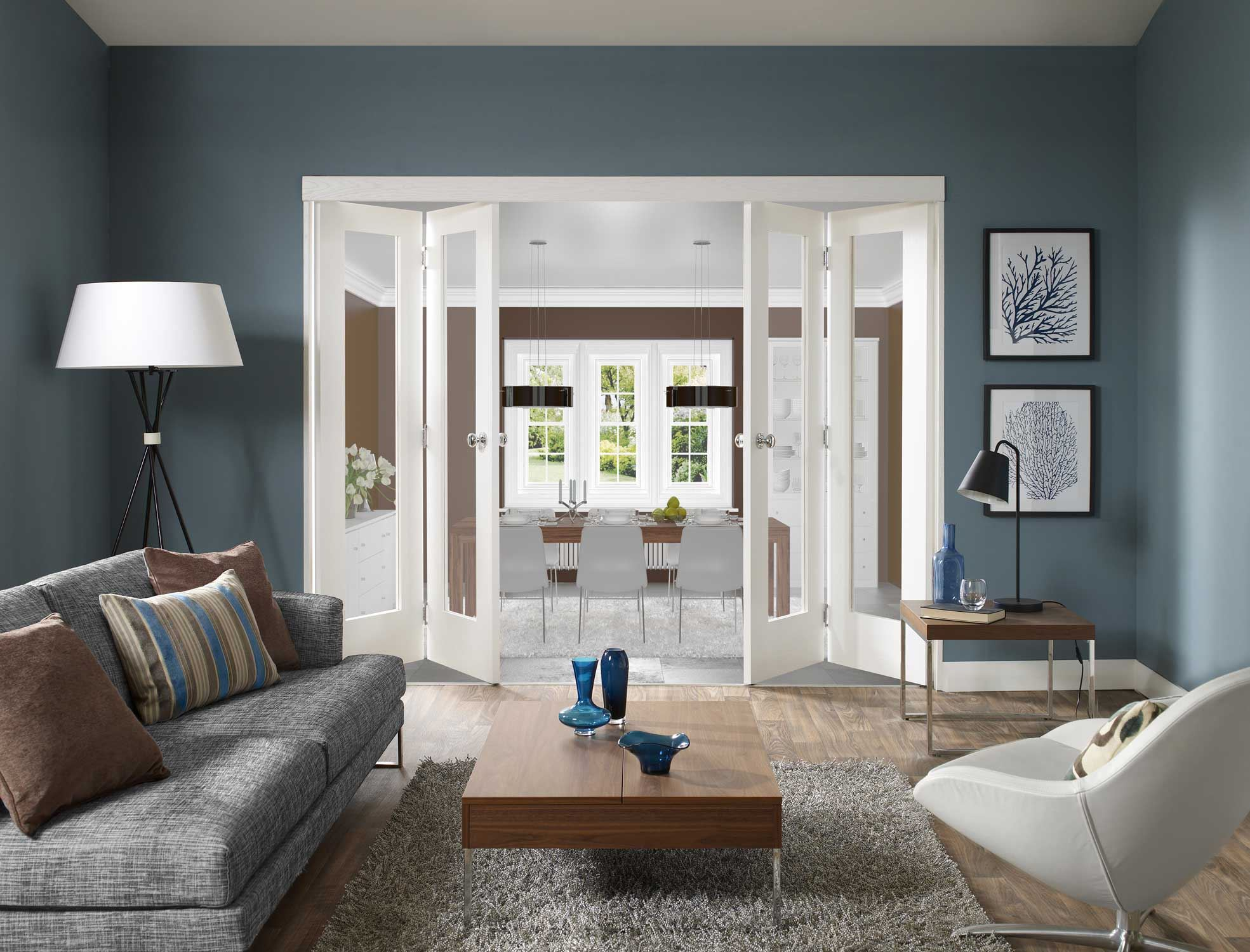 Если цвет стен серый то какой цвет мебели подойдет