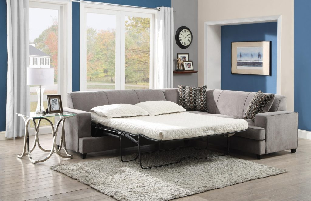 Гостевой угловой диван с механизмом для редкого использования