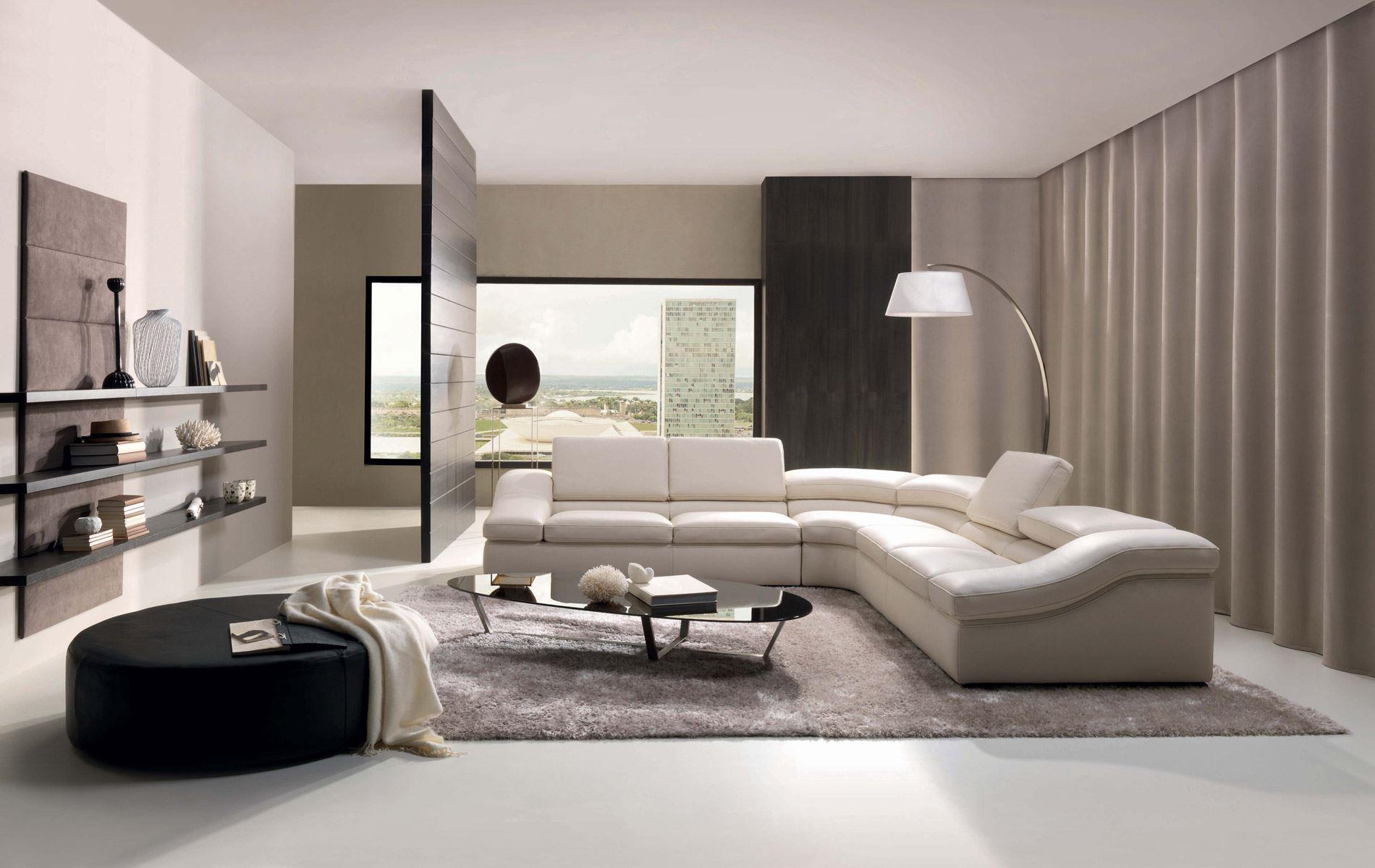 Угловой диван со спальным местом в гостиной (19)