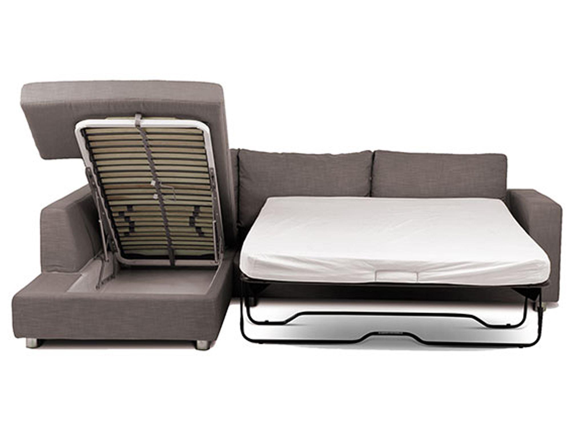 Угловой диван со спальным местом в гостиной (21)