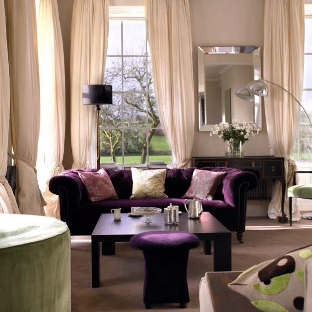 Фиолетовый диван (2)