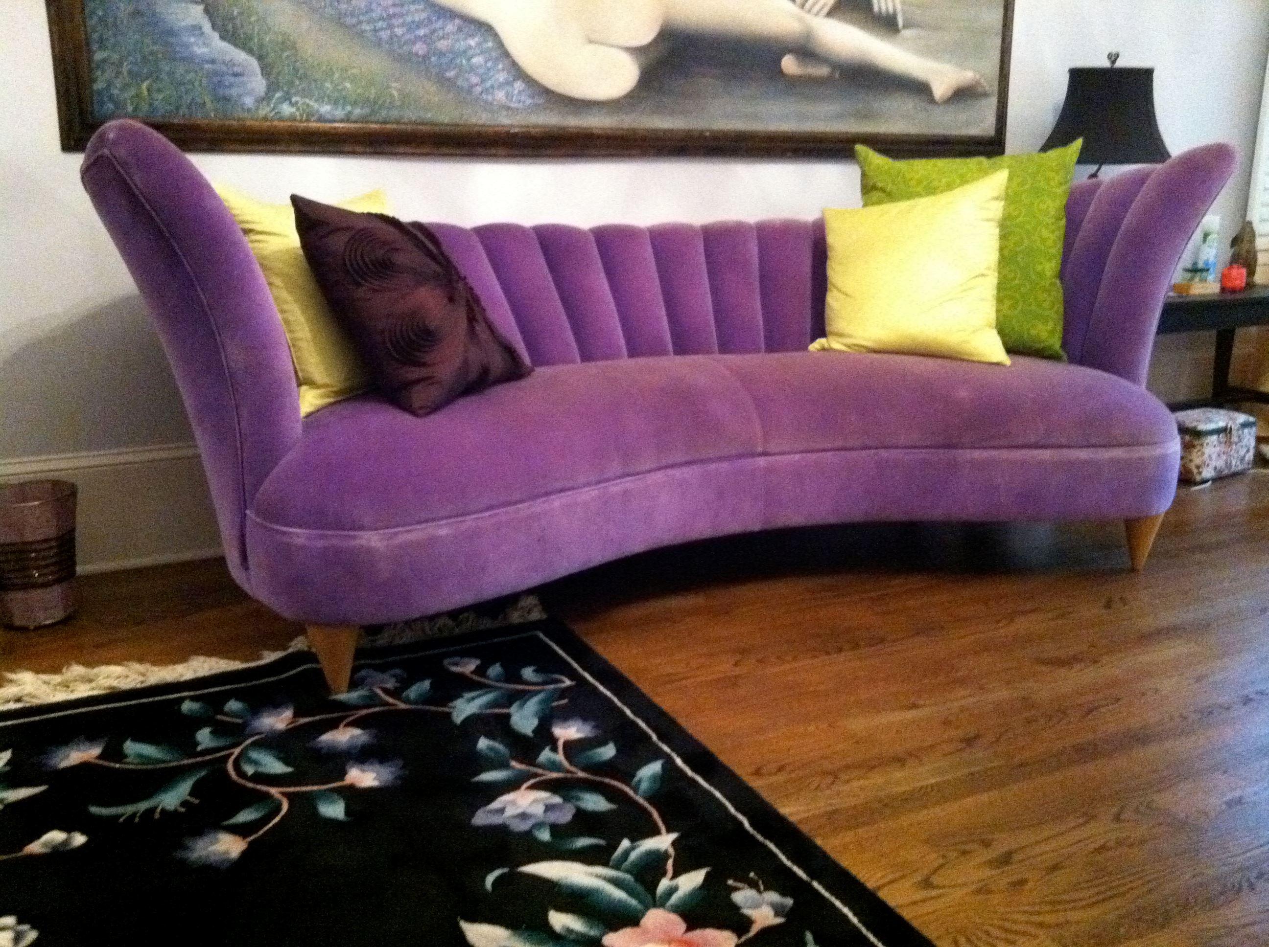 фиолетовые диваны с подушками фото хотите продать