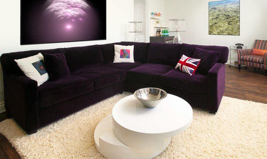 Фиолетовый диван (40)