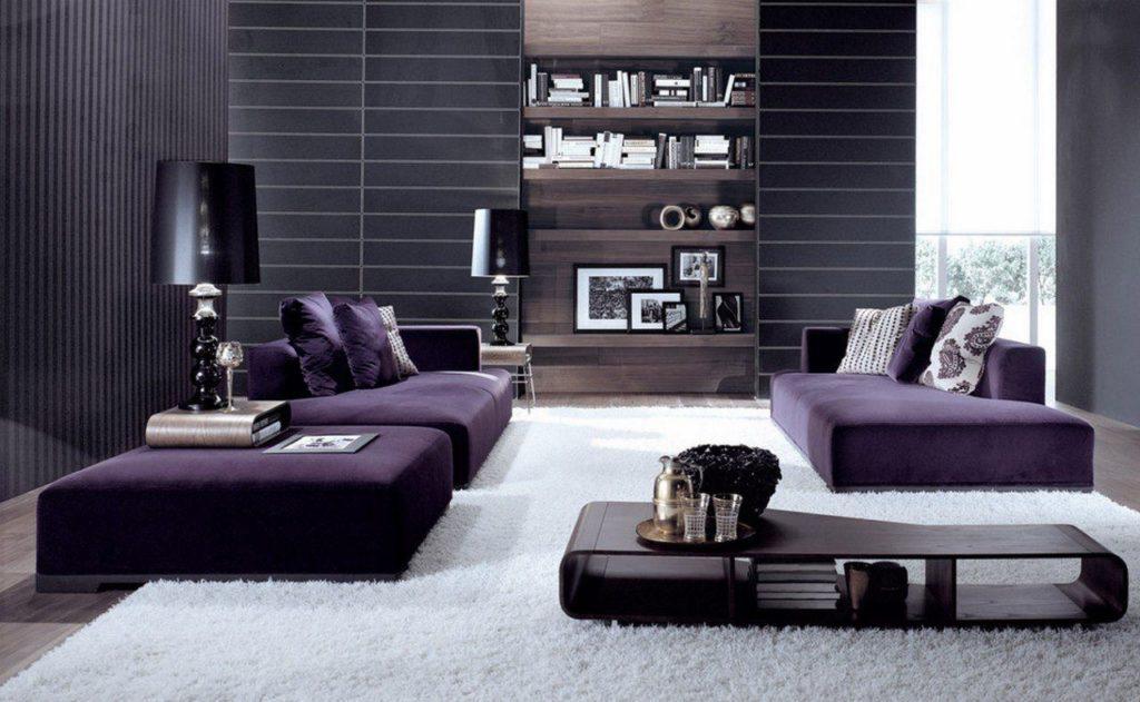 Дианы фиолетового цвета