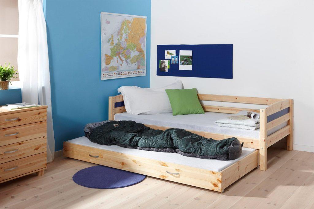 Фото детской выдвижной кровати