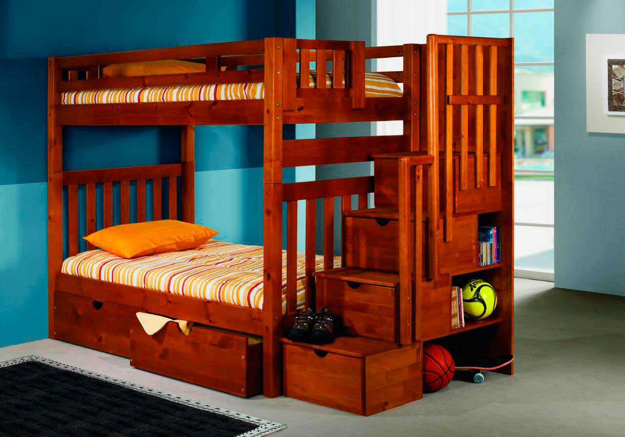 Двухъярусная кровать для детей (11)